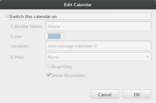 "Disable Home ""Calendar"""